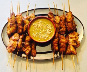 budget finger food catering chicken satay