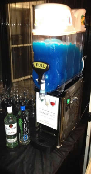 Cocktail Party Catering Adelaide Slushy Machine Hire