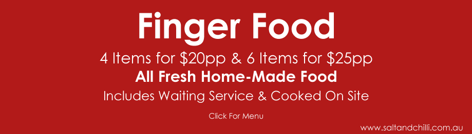 Finger Food Catering Menu 1
