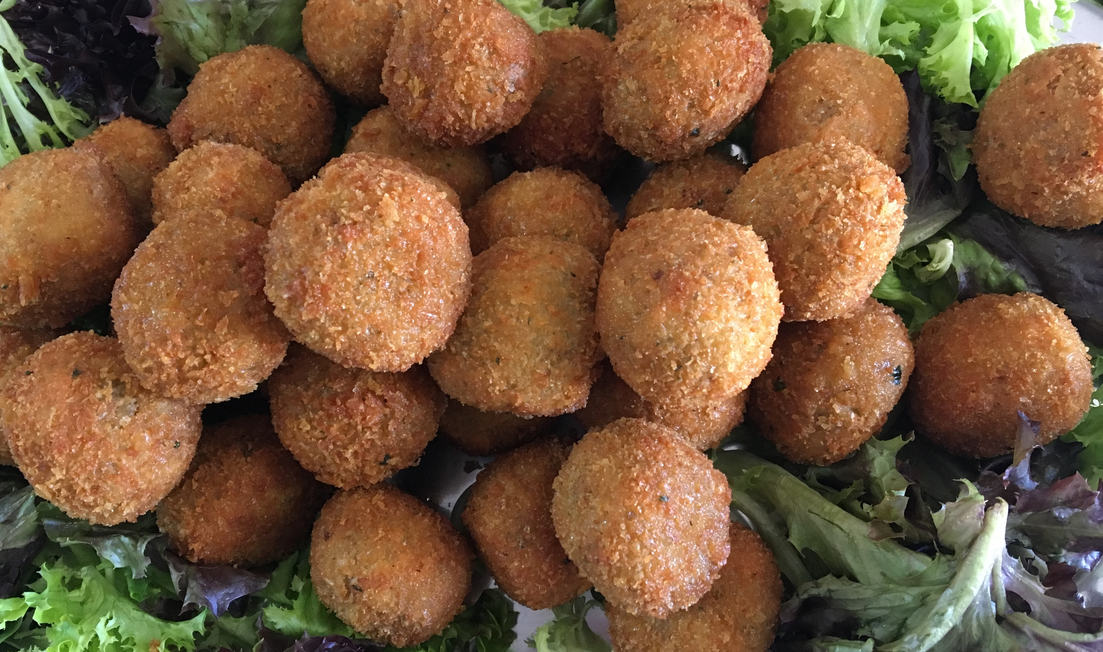 arancini balls home made